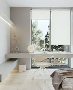 Office Interior Design, Office Interiors, Interior Design Living Room, Study Room Decor, Bedroom Decor, Home Room Design, House Design, H Design, House Rooms
