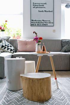 Breng kleur in je interieur met kussens en textiel