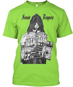 Sound Reaperz Lime T-Shirt Front