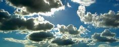 Clouds symbolising hevean
