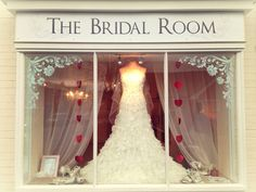 Our window do you like?  The bridal room Atherstone | info@thebridalroomatherstone.co.uk | 01827 767 080