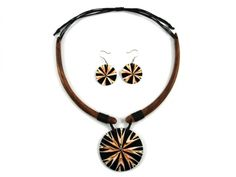 Necklace and earing from Indonesia http://www.etnobazar.pl/search/ca:bizuteria-i-dodatki?limit=128