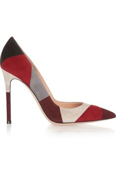 Gianvito Rossi | Patchwork suede pumps (=)