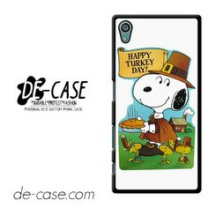 Snoopy Happy Turkey Day DEAL-9759 Sony Phonecase Cover For Xperia Z5