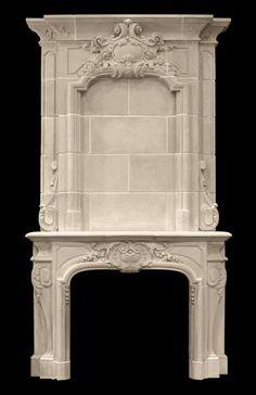 «BersoАнтик» - Каминный портал Bourges