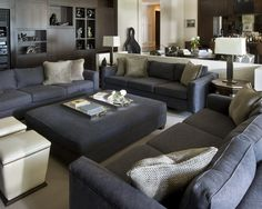 """dark Grey Sofa"" Design, Pictures, Remodel, Decor and Ideas - page 2"