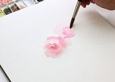 Watercolor Tutorial part 2: Blending | The Alison Show | Bloglovin'