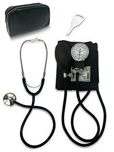 Primacare DS-9197-BK Classic Series Adult Blood Pressure Kit, Black with Stethoscope, http://www.amazon.ca/dp/B000RWB03W/ref=cm_sw_r_pi_awdl_x_l0OdybE7KHJAV