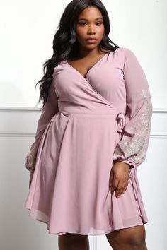 3ff521c58058 Be sassy and sweet at the same time with this flirty plus size dress!  Features