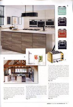 La Cornue's range cookers are available in custom colours www.lacornue.com Selfbuilder & Homemaker November-December 2014