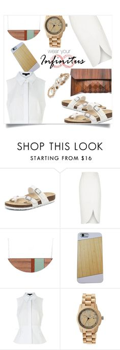"""""""infinituscases"""" by cat-and-fox ❤ liked on Polyvore featuring Birkenstock, Tesler, River Island, Alexander Wang, Earth, New Directions, infinituscases and loweinfinituscases"""