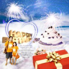 Happy birthday my wife #sk18design #photoshop
