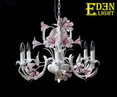 Products-What's New-EDEN LIGHT New Zealand Flower Chandelier, Chandeliers, New Zealand, Ceiling Lights, Flowers, Jewelry, Products, Decor, Transitional Chandeliers