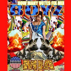 M.I.A. album cover design