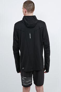 Puma Half Zip Hoodie in Black - Urban Outfitters
