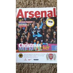 Arsenal v Wolves Football Programme 2011/2012 Premier League Listing in the Premiership Fixtures,2004-Now,League Fixtures,English Leagues,Football (Soccer),Sports Programmes,Sport Memorabilia & Cards Category on eBid United Kingdom