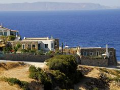 #Mohlos #Villas, comfortable, well fitted villas with private pool, on a perch sea & island view, with the local feel of #Mochlos #Village. Ready to #Book: http://www.cretetravel.com/hotel/mochlos-villas/