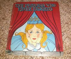 Vintage Tell A Tale The Princess Who Never Laughed Whitman Children's Book | eBay