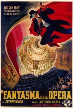 The Phantom of the Opera Affiche du film Poster Movie Le fantôme de l'opéra (27 x 40 In - 69cm x 102cm) Foreign Style A