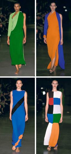 HELLO, color blocking! That green! #wurk