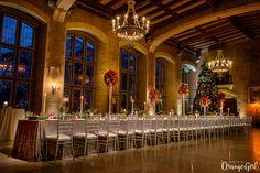 Fairmont Banff Springs Winter Wedding | Mount Stephen Hall | Decor by LFW Weddings. Photo by Orange Girl