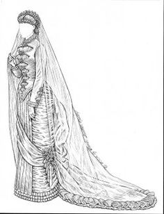 [1880 wedding gown]