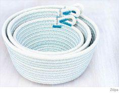 Bondville: Zillpa coil rope bowls