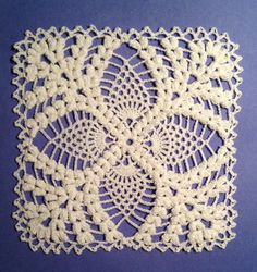 Pineapple Motif Crochet