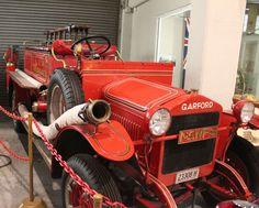 1923 Garford Model 15 Pumper #MuseumofFire #Penrith #Sydney #FireEngine #Firetruck #1923GarfordModel15 #1923Garford