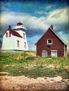 North Rustico Harbour Lighthouse, PEI Pei Canada, Great Vacation Spots, Newfoundland And Labrador, Holiday Places, Prince Edward Island, New Brunswick, Light House, Nova Scotia, Beautiful Islands