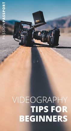 Wondering how your favorite filmmakers create movie magic? Here's a few beginner videography tips to get your travel film career started. Film Photography Tips, Real Estate Photography, Photography Lessons, Photography And Videography, Photography Backdrops, Travel Photography, Film Tips, Film Theory, Digital Story