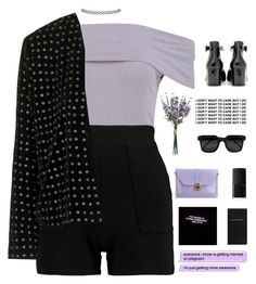 """""""6597"""" by tiffanyelinor ❤ liked on Polyvore featuring Boohoo, Gianvito Rossi, Kuboraum, NARS Cosmetics, Kate Spade and Topshop"""