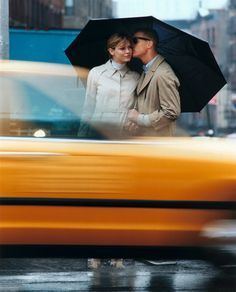 """Photo by Carter Smith Angela Lindvall """"Blame It on the Rain"""" Vogue US February 2000"""