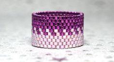 Unavailable Listing on Etsy Diy Jewelry Rings, Diy Rings, Seed Bead Jewelry, Seed Bead Earrings, Beaded Rings, Jewelry Crafts, Beaded Jewelry, Seed Beads, Bead Loom Bracelets