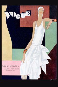 Vogue Cover - William Bolin, 1929