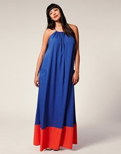 Chose a dress already hooked up with an intense hue combination! One that is already color-blocked is the best way that you can inch into this without being left with an outfit that you do not know what to rock it with!