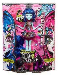 Monster High Inner Monster Spooky Sweet 'n Frightfully Fierce Doll