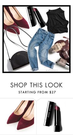 """""""◇THE NIGHT AWAITS◇"""" by tamsy13 ❤ liked on Polyvore featuring Bobbi Brown Cosmetics"""