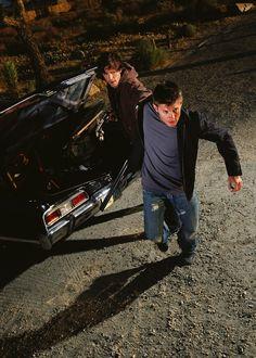 Jensen Ackles & Jared Padalecki as Dean & Sam Winchester | Season 1 Group Shot Promo #Supernatural #SPN