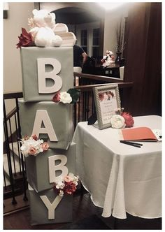 99 Ideas for the winter shower for children A baby shower is usually a host … – Baby Diy … – Baby Shower Decor Baby Shower Floral, Fiesta Baby Shower, Baby Shower Fun, Baby Shower Gender Reveal, Shower Party, Baby Shower Parties, Babby Shower Ideas, Baby Shower Twins, Bridal Shower