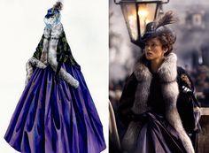 Anna Karenina | Costume Design by Jacqueline Durran | Keira Knightley