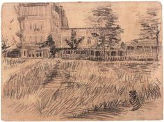 Vincent van Gogh, Restaurant in Asnieres