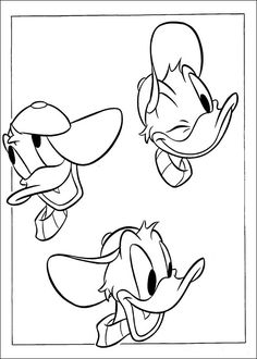 Donald Duck Coloring Pages 33