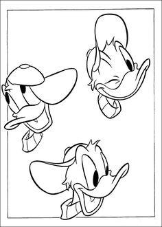 Dibujos para Colorear El Pato Donald 33