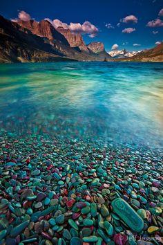 maya47000:Glacier National park , St Mary lake, Montana USA c Jeff Jessing