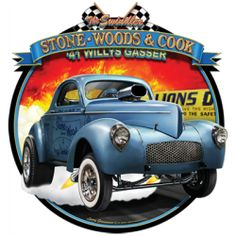 Vintage Classic Car Hot Rod Hoddie Hodded Top OldSkool Great Gift Idea