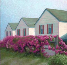 Beach Point Roses- Nancy Poucher