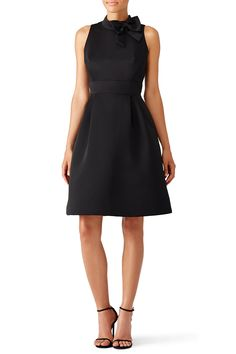 Rent Black Bow Dress by kate spade new york for $65 - $80 only at Rent the Runway.