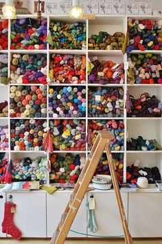 My future yarn storage ~ SwEEt Inspiration!