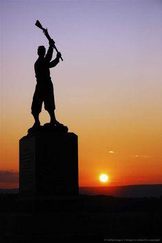 Civil War Memorial, Pennsylvania 72nd, Gettysburg